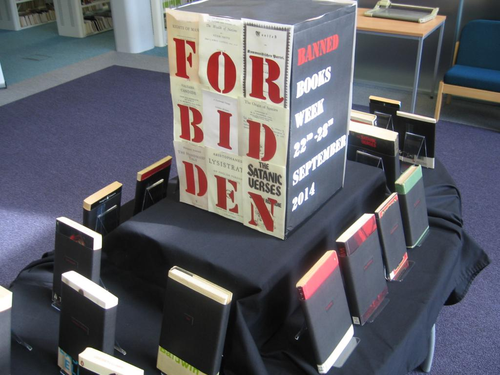 Leeds Trinity banned books